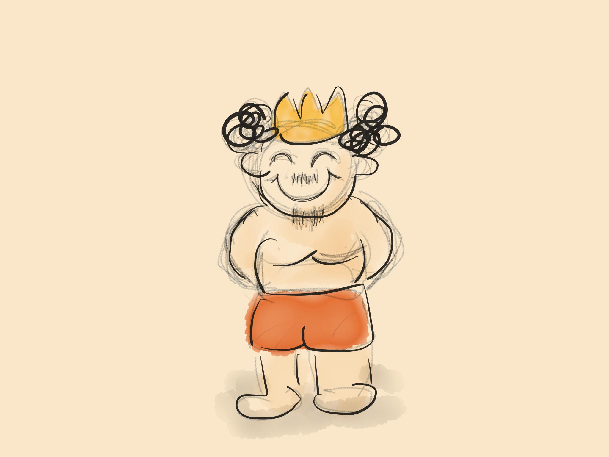 もうひとつの裸の王さま